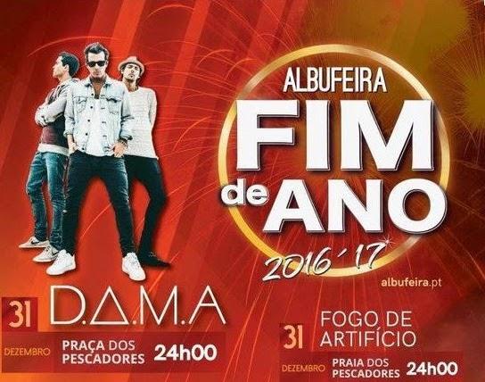 Réveillon 2016-2017 em Albufeira