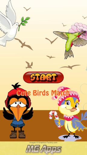 Cute Birds Match