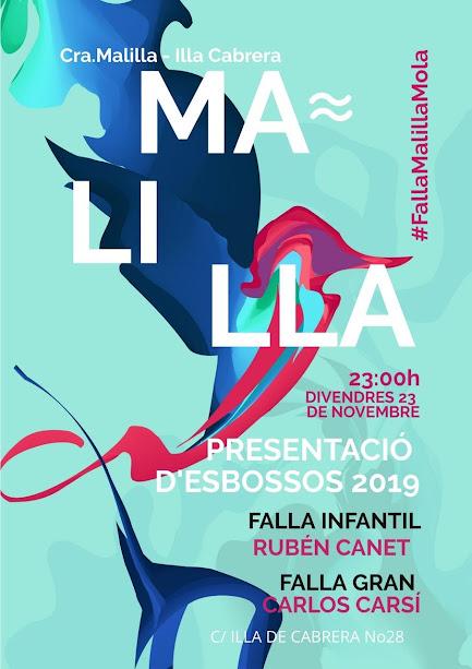 Presentación de bocetos en Carrera Malilla - Isla Cabrera 2019