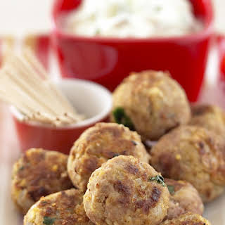 Lamb and Chickpea Meatballs.