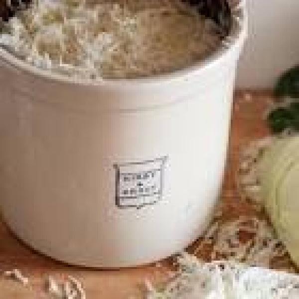 Sauerkraut Using Stone Crock Recipe