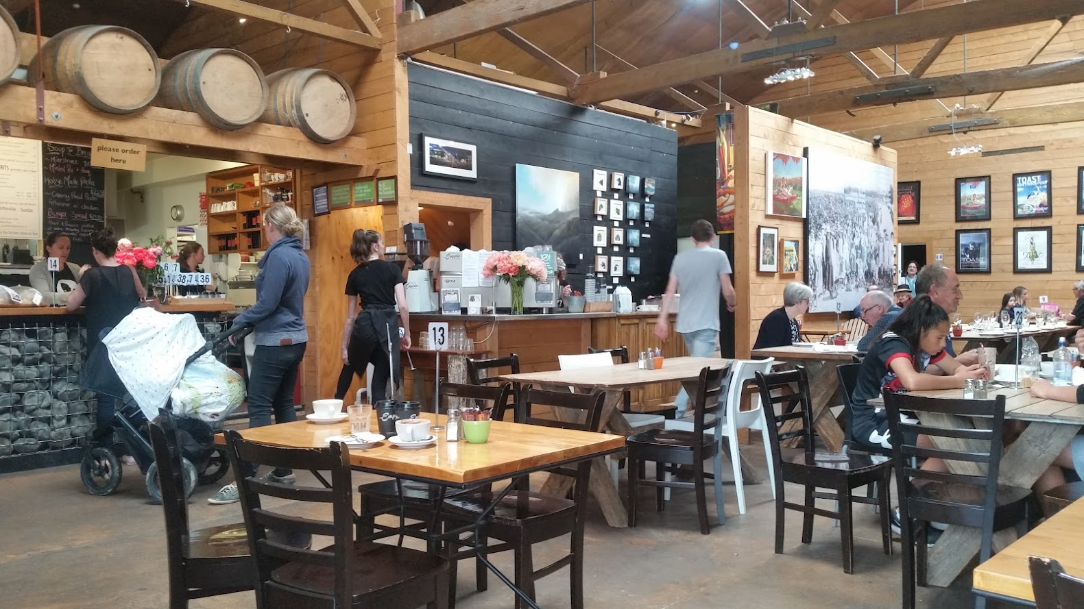 Village Cafe interior Martinborough