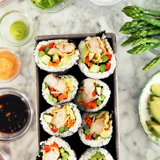 Shrimp Sushi Roll Recipes