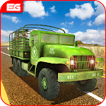 Off Road Army Truck Driving Games 3D Free Download Icon