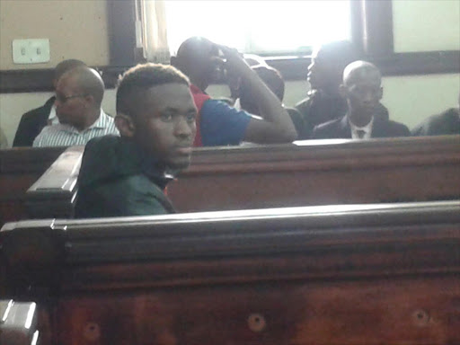 Sandile Mantsoe, the man accused of killing Karabo Mokoena appears in the Johannesburg Central Magistrate's Court.