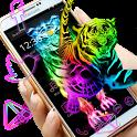 Tigers Neon Color Themes icon