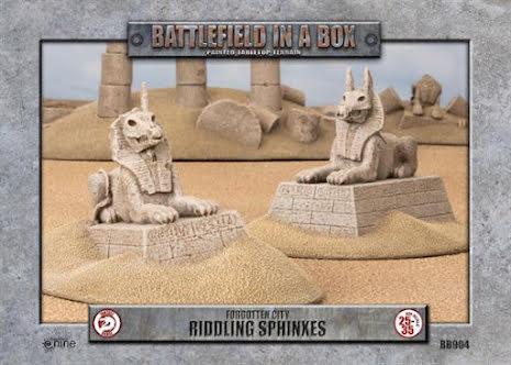 Forgotten City - Riddling Sphinxes