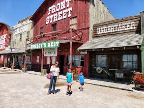Photo: Front Street Steakhouse in Ogallala. Who wants lunch, besides peanut butter and jelly?