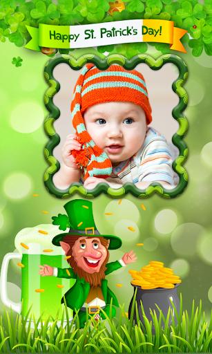 Patrick Day Photo frame Irish