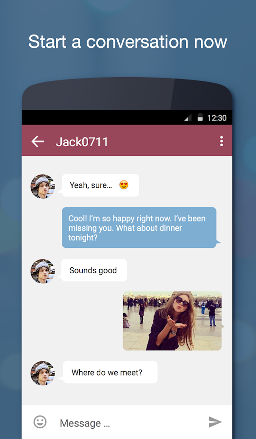 Chat, Flirt & Dating ♥ JAUMO - screenshot