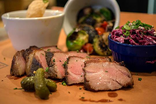 Photo: Berkshire Pork Shoulder at Blue Belly BBQ