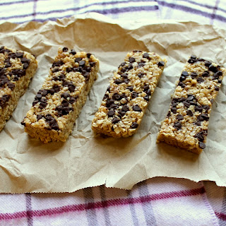 PB Chocolate Chip Chewy Granola Bars