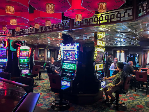 Casino.jpg - Passengers get busy in the Casino aboard Norwegian Jade.