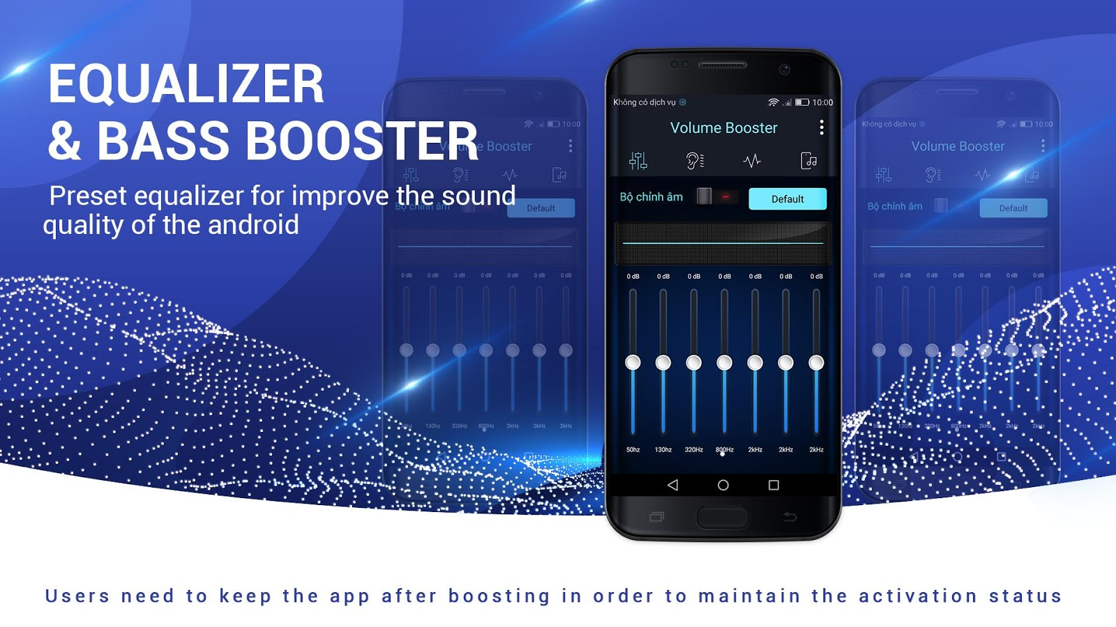 Volume Booster and Equalizer- screenshot
