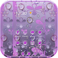 Purple Waterdrop Theme APK
