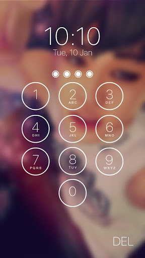 kpop lock screen 2.6.36.99 screenshots 1