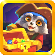 Raccoon's Adventure: The Pirate Island - Match 3