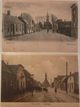Photo: oude ansichtkaarten, te zien in het museumpje in de Kerkstraat