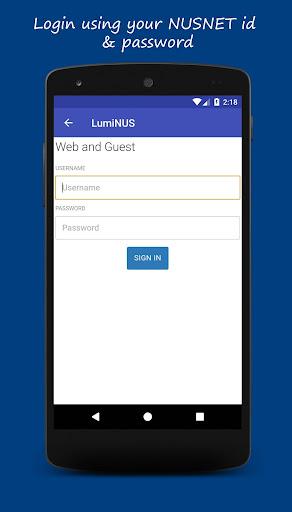 Download LumiNUS 3.1.1 1