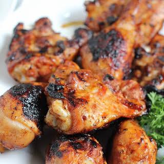 Spicy Korean Grilled Chicken.