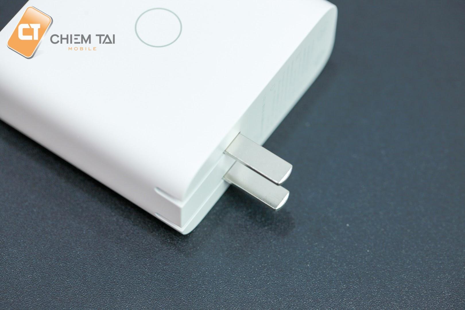 Cốc sạc nhanh đa năng 3 cổng 65W ZMI HA832 (hỗ trợ sạc laptop)