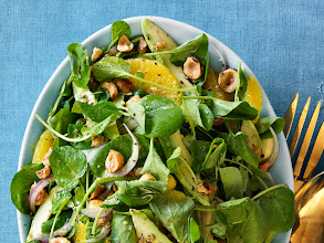 Photo: Watercress, Avocado and Orange Salad: Turn two bunches of watercress into a heart-healthy salad by adding sliced avocado and segmented oranges. Get this recipe >> http://ow.ly/aIhbb