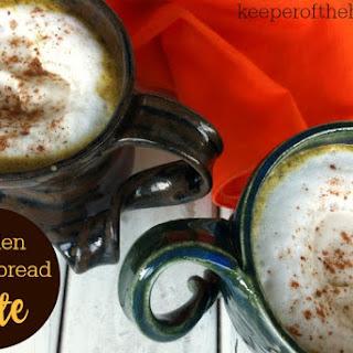 Golden Gingerbread Latte
