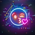 Starry Neon Launcher icon