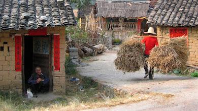Photo: backroads near Guilin, China