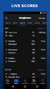 theScore: Live Sports News, Scores, Stats & Videos- screenshot thumbnail