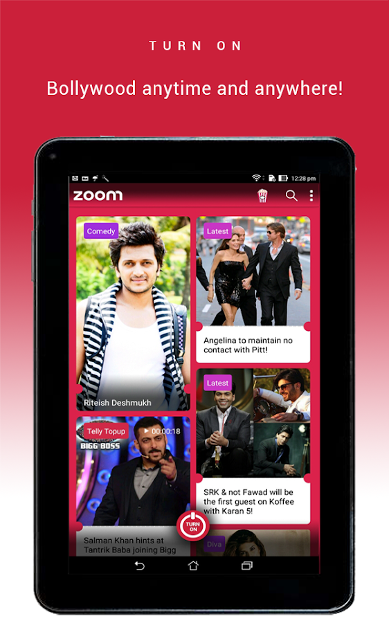 Zoom: Bollywood News & Videos- screenshot