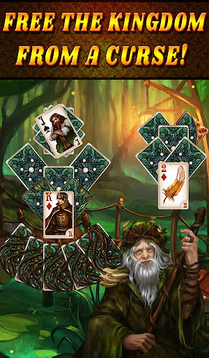 Shadow Kingdom Solitaire. Adventure of princess filehippodl screenshot 19