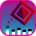 Jumping Square Hang Time icon