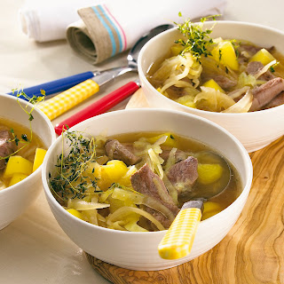 Weißkohl-Stew mit Entenbrust
