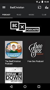 The BadChristian App- screenshot thumbnail