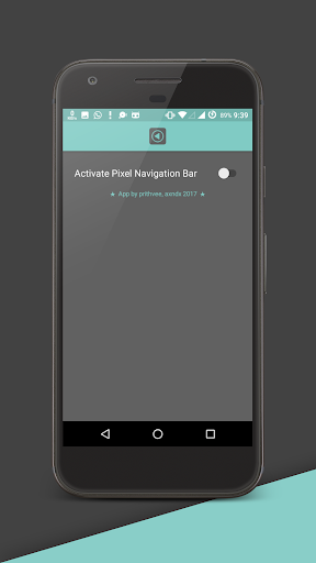 Pixel Navigation Bar (No Root) now with Animations 4.4 screenshots 1