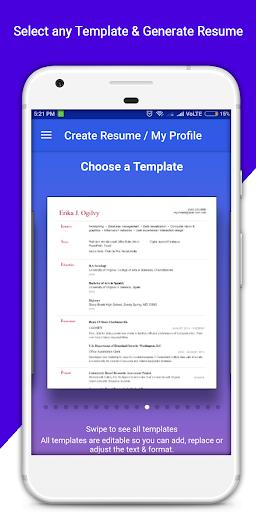 Download Resume Builder Pro - 3 Min Free CV Maker Templates on PC ...