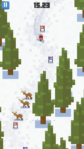 Skiing Yeti Mountain screenshot 2