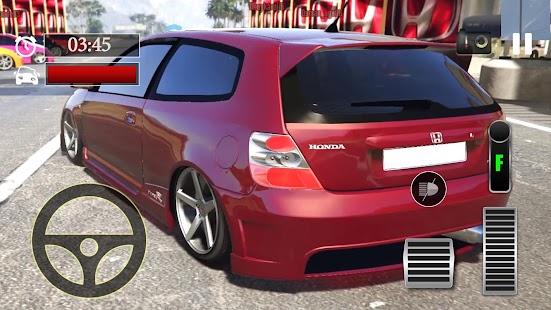 Car Parking Honda Civic Type-R Simulator - náhled
