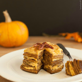 Pumpkin Cheesecake Pancakes Low Carb