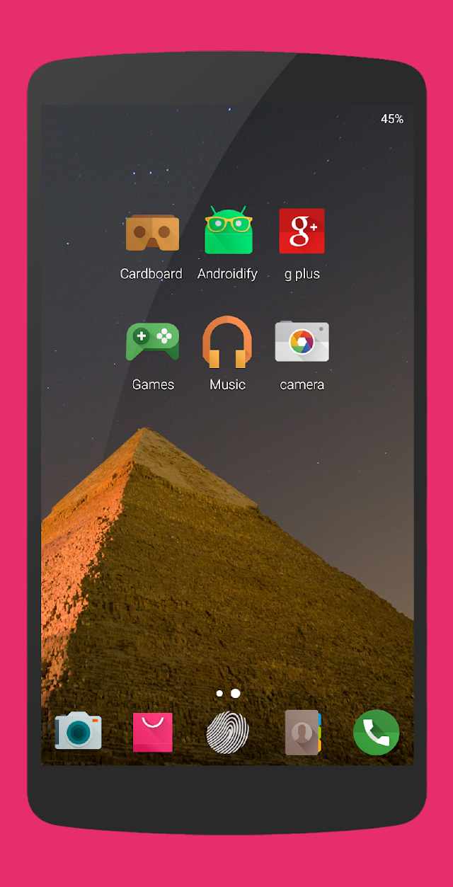 Marshmallow - Icon Pack- screenshot