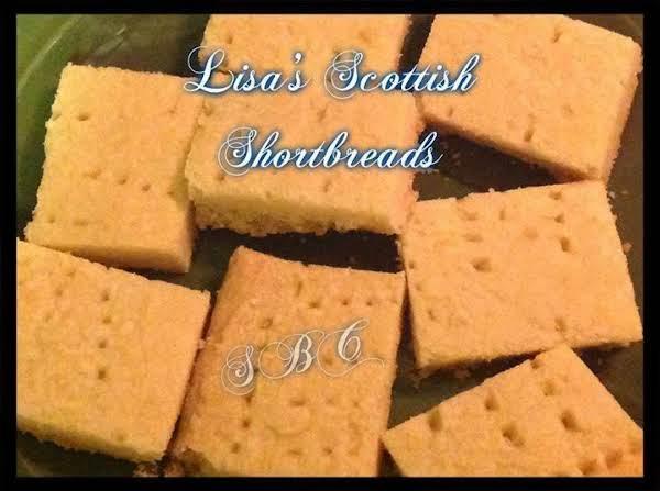 Lisa's Scottish Shortbreads Recipe