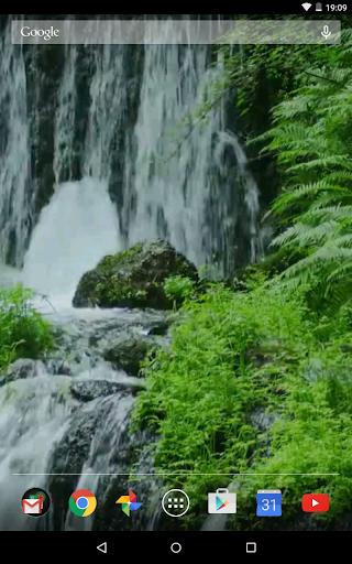 Waterfall 4K Video LWP