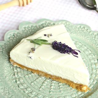 Lavender Honey Cheesecake
