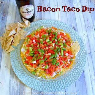 Bacon Taco Dip.