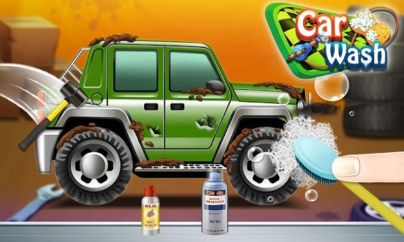 Car Wash and Design - Car Games