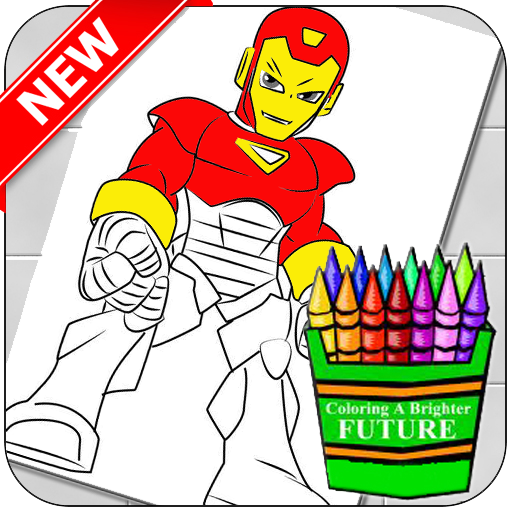 App Insights: Best Coloring Superheroes Chibi   Apptopia