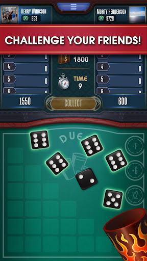 Farkle online - 10000 Dice Game apktram screenshots 3