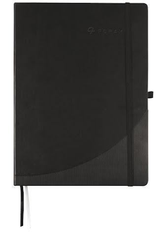 Anteckningsbok A4 rutat svart