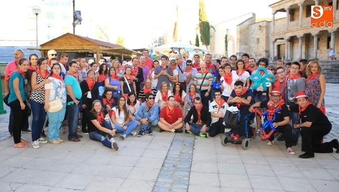 Fundación Aviva Salamanca con los magos Paco G y Alfonso V 2015